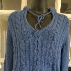 Lilu women's cable knit sweater
